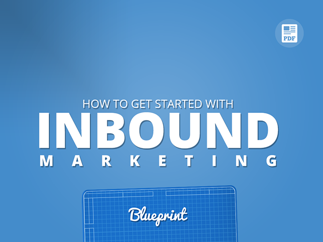 The lean way to launch inbound marketing inbound marketing blueprint malvernweather Image collections