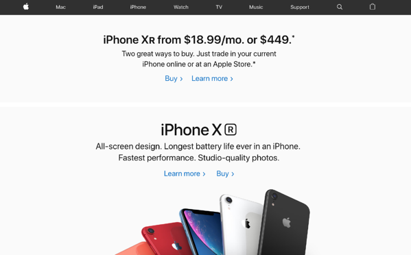 AppleOne_website branding