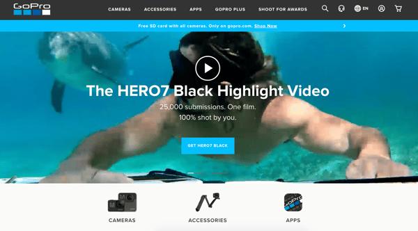 GoProOne_website branding