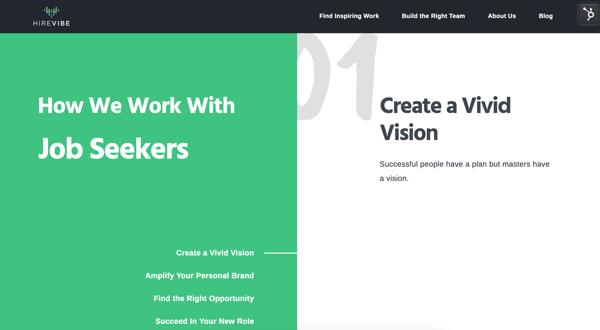 HireVibe_website branding