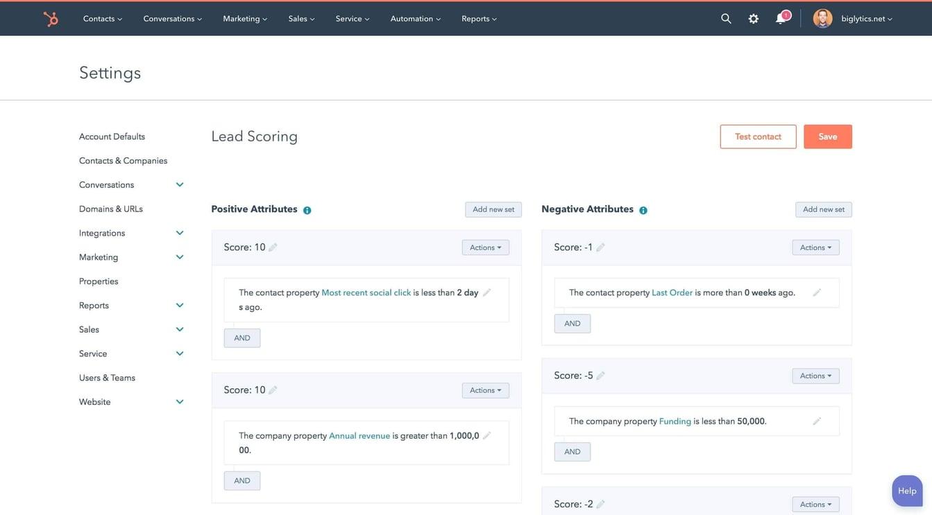 HubSpot-Lead-Scoring