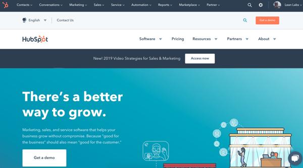 HubbySpot_website branding