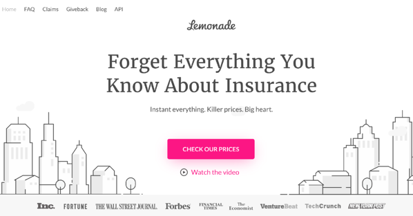 Lemonade_website branding