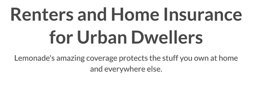 Renters and Home Insurance for Urban Dwellers