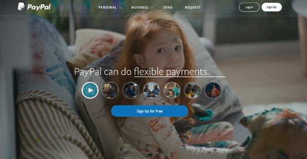 PayPal_branding and website design