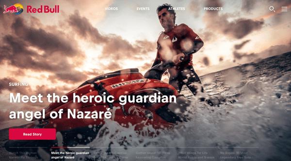 RedBullOne_website branding
