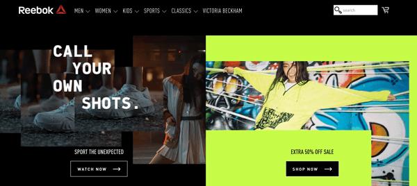 Reebook_branding and website design