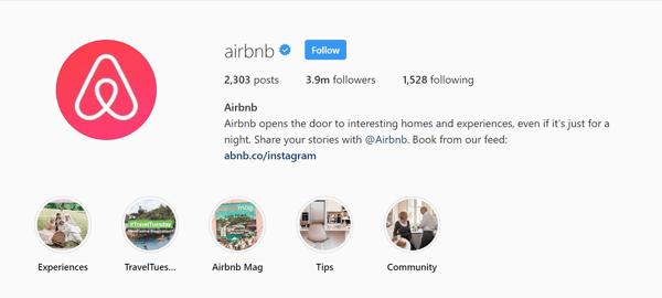 Social-Media-airbnb-Instagram