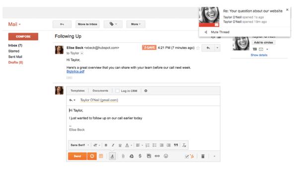 HubSpot-Cost-Gmail