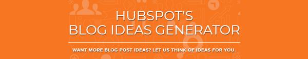 HubSpotBlogIeasGenerator