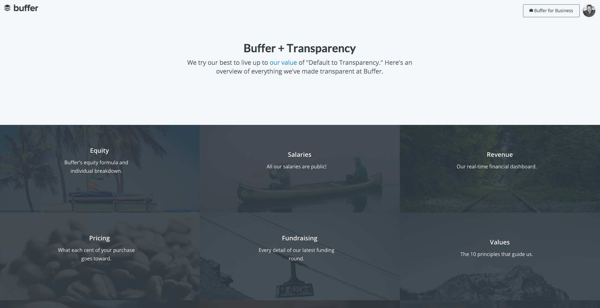 Buffer and Transparency
