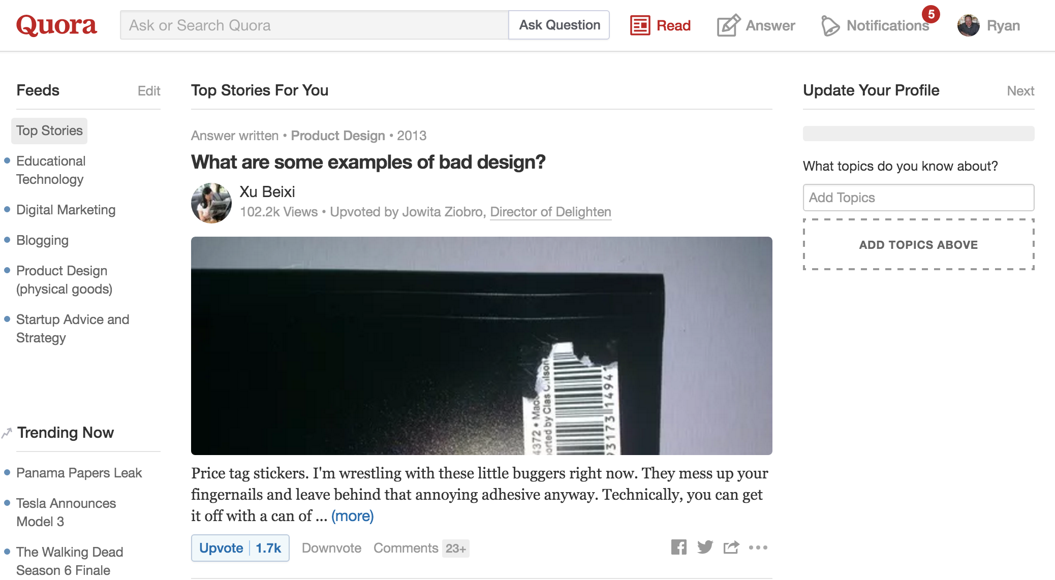 Using Quora to Promote Content