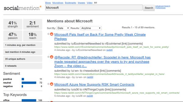 Social-Benchmarks-Microsoft