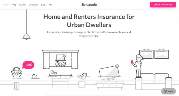 Lemonade Startup Design