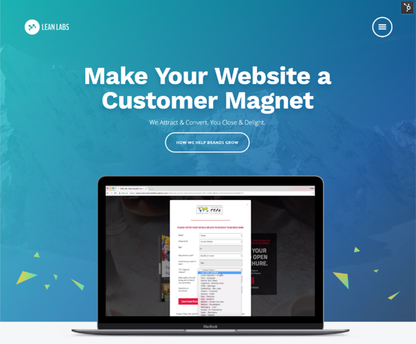 lean website launch tips