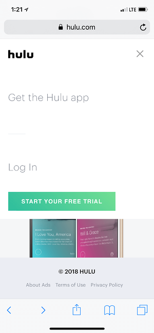 Poor Mobile Landing Page Copy Examples