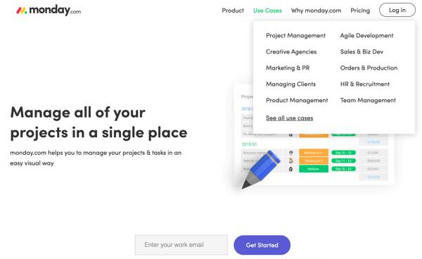 monday_branding and website design