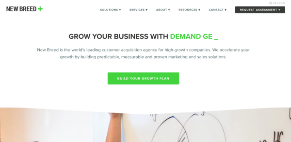 best web design firm new breed