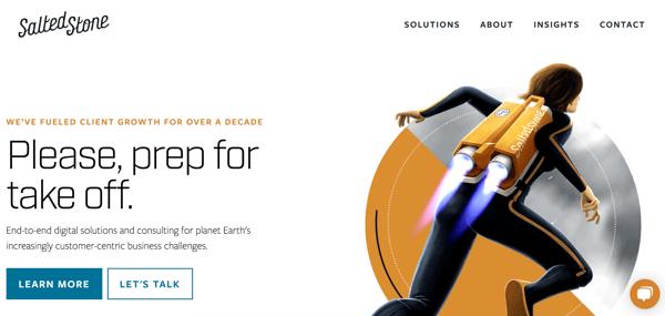 best web design firm saltedstone