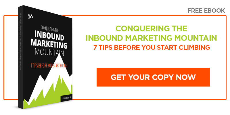 Free Ebook: Climbing the Inbound Marketing Mountain