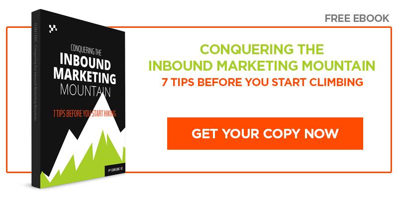 Free Ebook: Climbing the Inbound Marketing Mountain