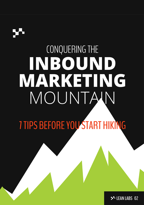 Conquering The Inbound  Marketing Mountain