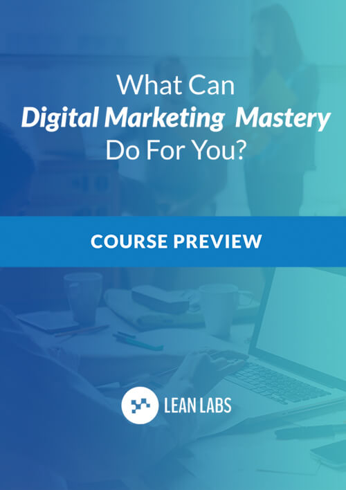 Digital Marketing Mastery Course Preview